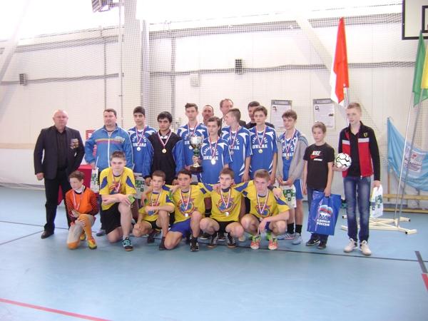 Организации ветеранов боевых действий провели мини-футбольный турнир для детей