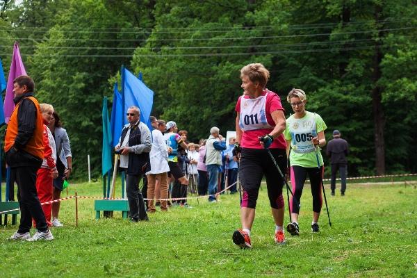 В Арзамасе состоялись Всероссийские соревнования по северной ходьбе