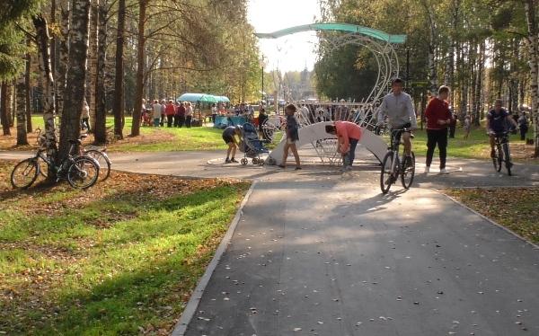 Более 12 млн рублей было выделено на благоустройство Заречного парка в Шаранге