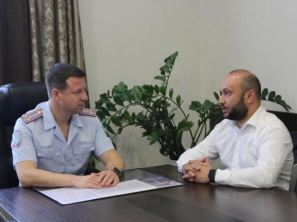 Региональный координатор партпроекта «Детский спорт» обсудил с представителями правоохранительных органов совместную работу