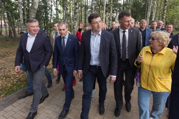 В Сормово открылся благоустроенный по проекту «Городская среда» Светлоярский парк