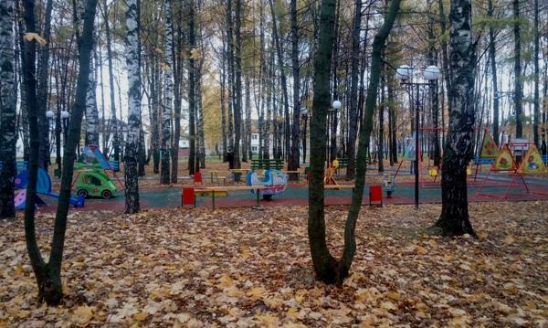 В Воротынце в рамках партпроекта «Городская среда» благоустроили парк