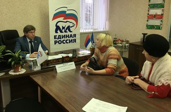 Партиеец окажет поддержку обществу инвалидов Ковернинского района
