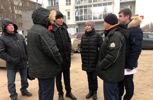 Партийцы провели объезд общественных территорий в Ленинском районе, которые планируют благоустроить в следующем году