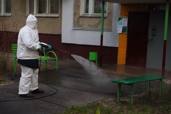 Губернатор Нижегородской области проверил работу по дезинфекции мест общего пользования в многоквартирных домах